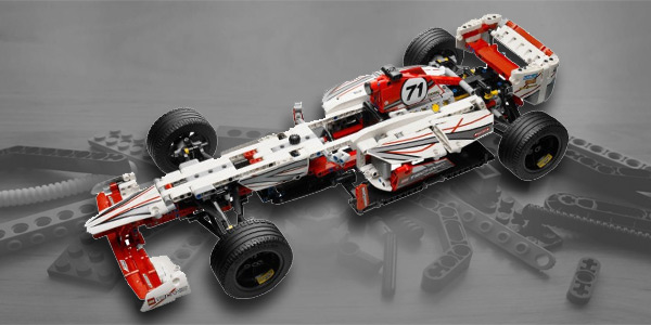 Lego Technic Formula 1 Cars Sets