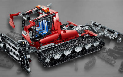 Review: Lego Technic 8263 Snow Groomer