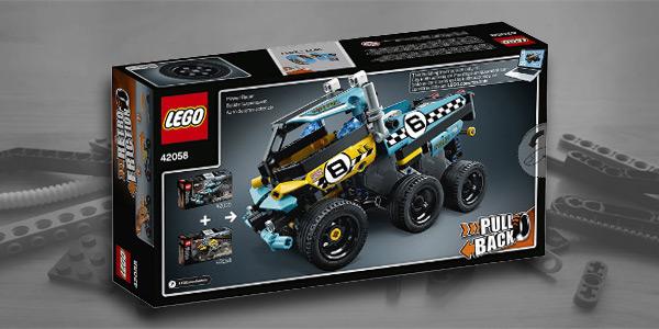 42058 + 42059 6 Wheels Truck