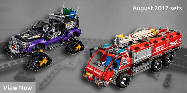 Lego Technic August 2017 Sets