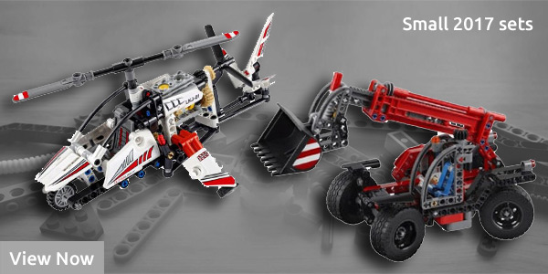 Lego Technic Sets 2017 – All New Small Models