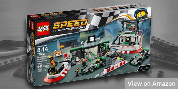 Lego Mercedes AMG Petronas Formula 1 Team