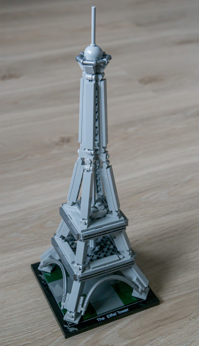 Lego Architecture Eiffel Tower 21019 Review Lego Sets Guide