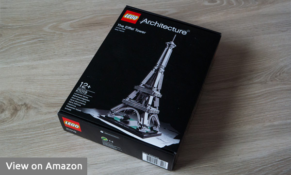 Lego Eiffel Tower Box