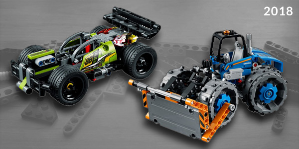 Lego Technic Small Sets of 2018