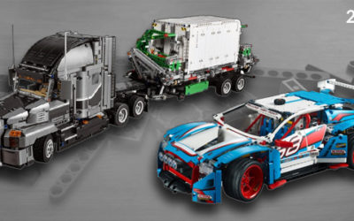 Lego Technic 2018 Sets – Bigger Models
