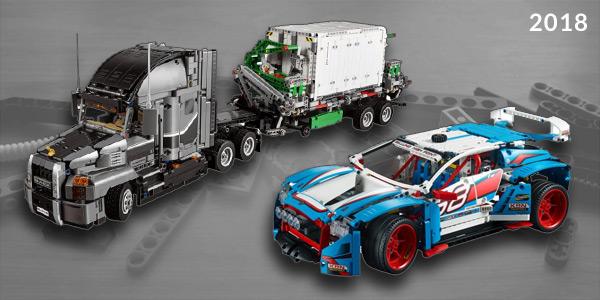 Lego Technic 2018 Sets – Bigger Models