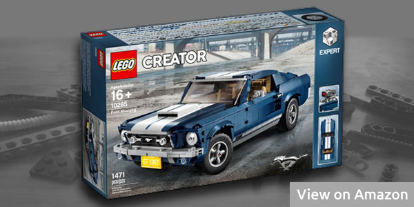 Lego Car Set Ford Mustang
