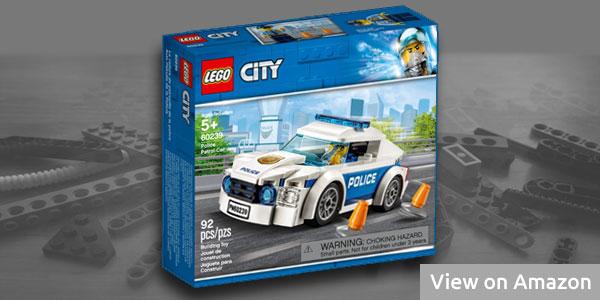Lego City Police Car