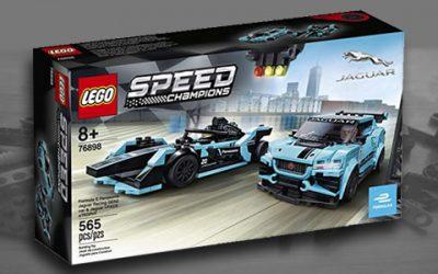 Lego Speed Champions 76898 Jaguar Formula E & I-Pace