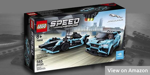 Lego Jaguar Formula E & Jaguar I-Pace