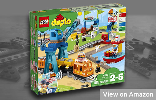 Lego Duplo Cargo Train Set