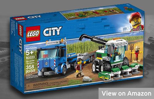 Lego Harvester Transport Set