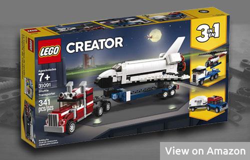 Lego Shuttle Transporter Set