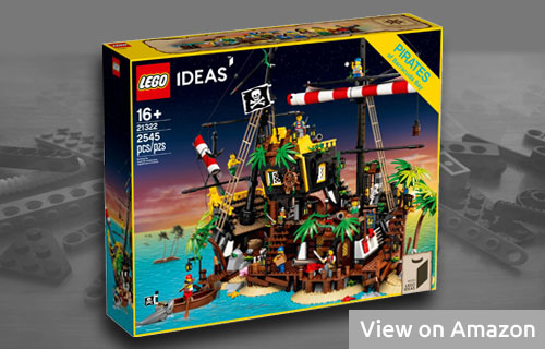 Big Lego Pirates Set