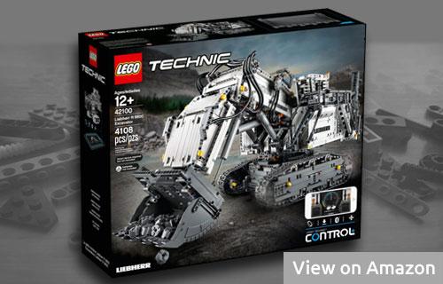 Large Lego Liebherr Excavator Set
