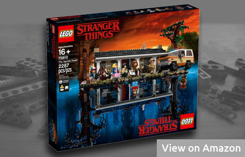 Large Stranger Things Lego Set