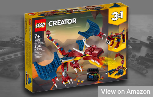 Lego Creator 3in1 Dragon Set