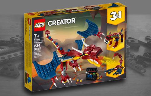 Best Lego Dragon Sets