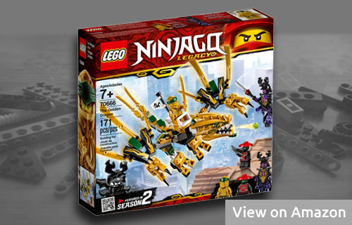 Lego Ninjago Golden Dragon