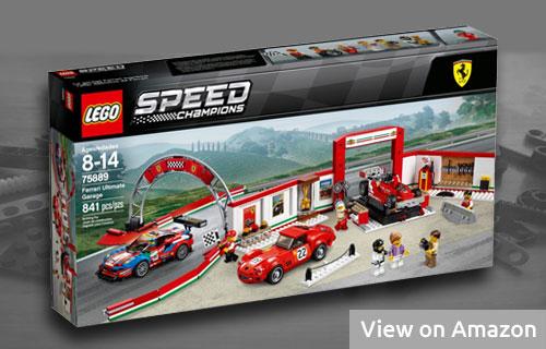 Lego Ferrari Garage