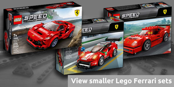 Lego Speed Champions small Ferrari sets