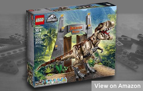Lego Tyrannosaurus Rex Rampage