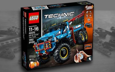 Best Lego Technic Sets with Power Functions & Motors