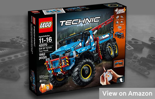 Lego Technic Truck with Power Functions