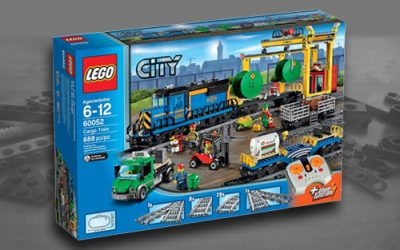 Lego City Cargo Train 60198 set and 60052 (Comparison)