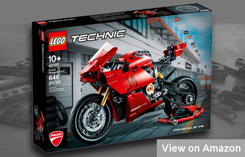Lego Technic Motorcycle Ducati