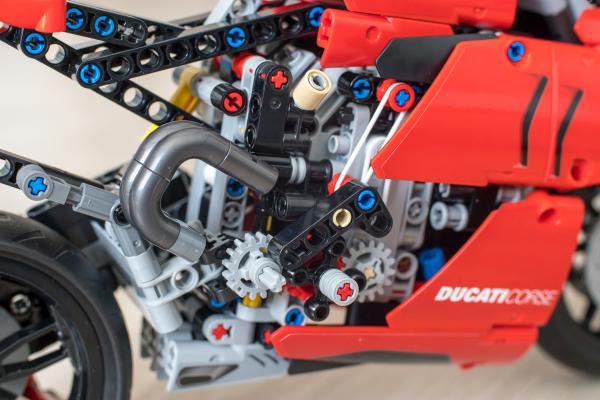 Lego Technic Ducati Motorrad Getriebe