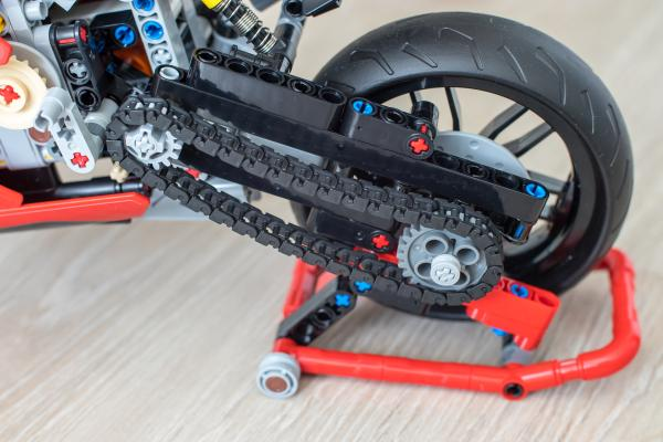 Lego Ducati Stand
