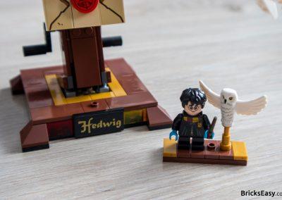 Lego Harry Potter Hedwig Harry Minifigure