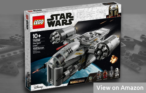 Lego Star Wars Mandalorian Bounty Hunter Transport