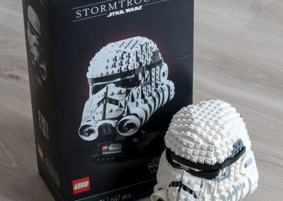 Lego Star Wars Stormtrooper Helmet Box