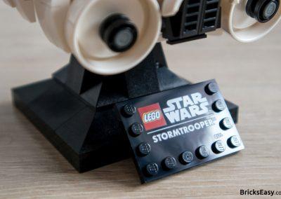 Lego Star Wars Stormtrooper Helmet Stand