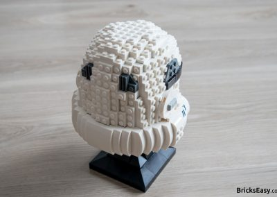 Lego Star Wars Stormtrooper Helmet Back