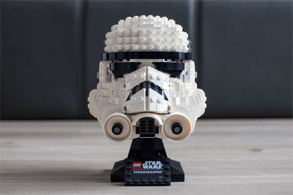 Lego Star Wars Stormtrooper Helmet 75276 Review