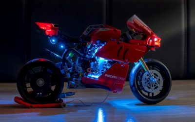 Light Kit for Lego Technic Ducati Panigale – GameOfBricks (Review)