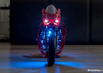 Light Kit for Lego Ducati Panigale Front View