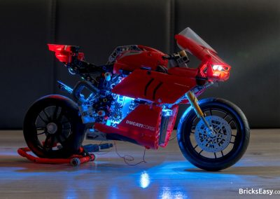 Light Kit for Lego Ducati Panigale Side View