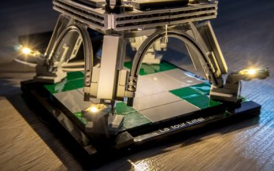 Lego Light Kit for Eiffel Tower Set – Lightailing (Review)