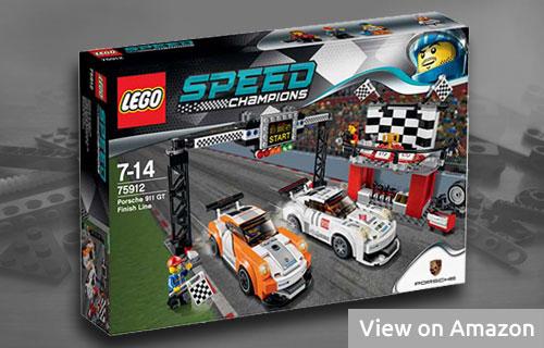 Lego Porsche 911 GT Finish Line