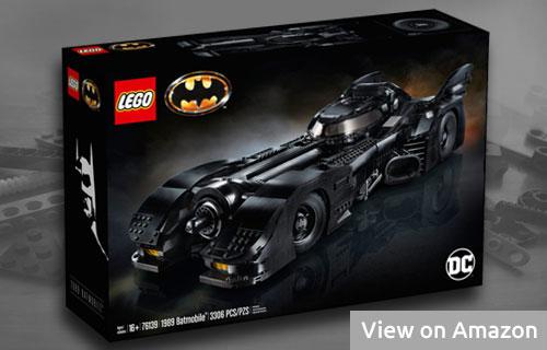 Lego Batmobile Vehicle