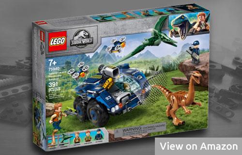 Lego Jurassic World Gallimimus and Pteranodon