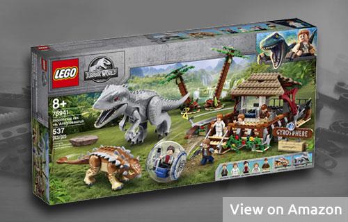 Lego Jurassic World Indominus Rex & Ankylosaurus