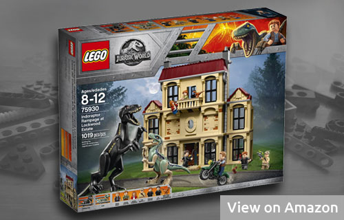 Lego Jurassic World Indoraptor at Lockwood Estate