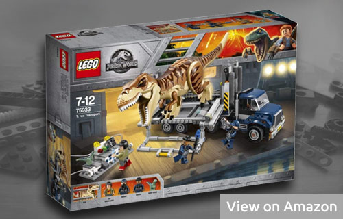Lego T. rex Transport 75933