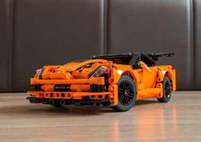 Lego Technic 42093 Chevrolet Corvette Front View